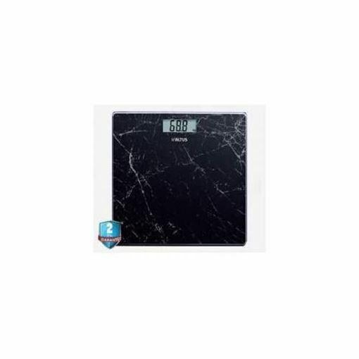 Altus AL 808 Siyah Banyo Tartısı Resmi