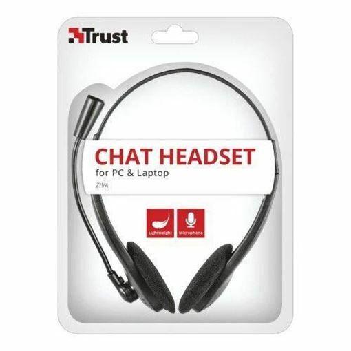 Trust Ziva 21517 Mikrofonlu Kulaklık Resmi