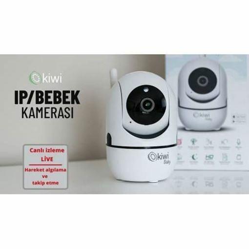 Kiwi Kbaby 99 IP Bebek Kamera, ip Kamera Sistemi, Güvenlik kamerası, kbaby99, Bebek kamerası Resmi