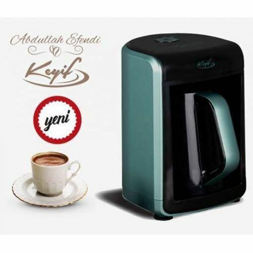 Abdullah Efendi Keyif Rosegold Kahve Makinesi Resmi
